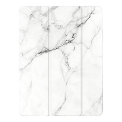 "SaharaCase - Custom Design Smart Folio Case for Apple® iPad® 9.7"" (6th Generation 2018) - White Marble - Sahara Case LLC"