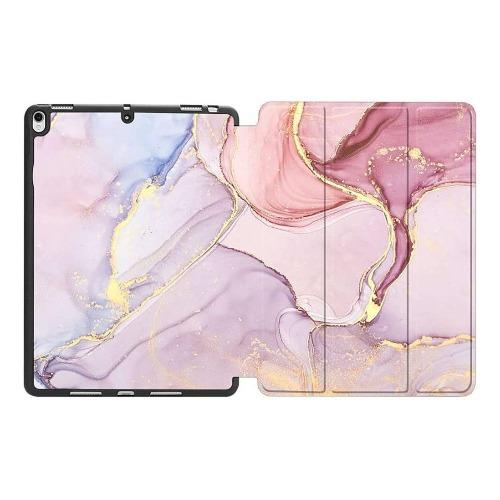 "SaharaCase - Custom Folio Series Case - for iPad 10.2"" (7th Gen 2019 and 8th Gen 2020) - Pink Marble - Sahara Case LLC"