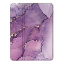 "SaharaCase - Custom Folio Series Case - iPad Pro 11"" (2020) - Purple Marble - Sahara Case LLC"
