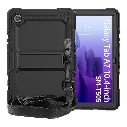 SaharaCase - Defence Case - for Galaxy Tab A7 - Black - Sahara Case LLC