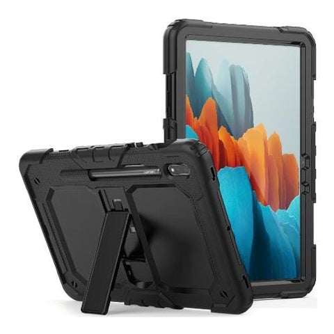 SaharaCase - Defense Protection Case for Samsung Galaxy Tab S7 Plus (2020) - Black