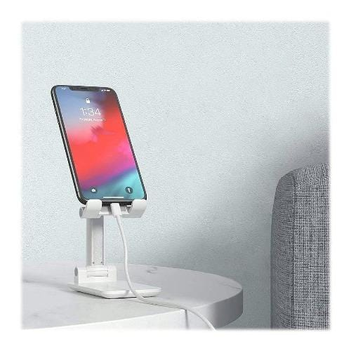 SaharaCase - Foldable Stand - for Most CellPhones and Tablets - White - Sahara Case LLC