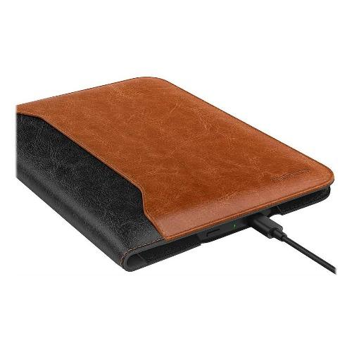 SaharaCase - Folio Case for Amazon Kindle Paperwhite (10th Gen - 2018) - Black/Brown - Sahara Case LLC