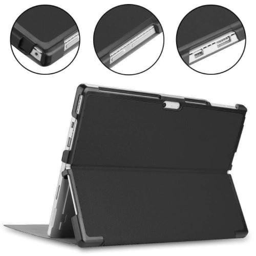 SaharaCase - Folio Case for Microsoft Surface Pro 4, 5, 6 and 7 - Black - Sahara Case LLC