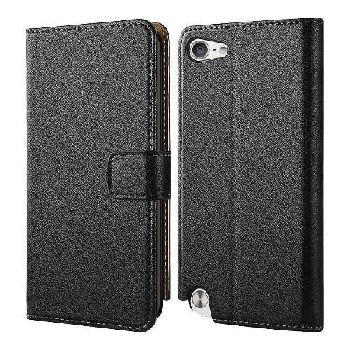 SaharaCase Folio Series Case - for Apple iPod Touch (6th and 7th Gen) - Black - Sahara Case LLC