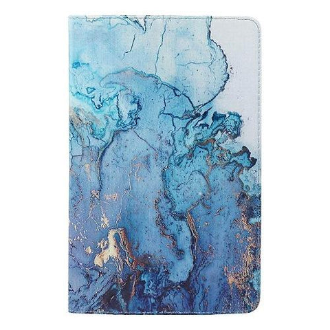 SaharaCase - Folio Series Case - for Samsung Galaxy Tab S7 (2020) - Blue Marble