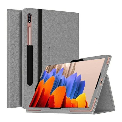 SaharaCase - Folio Series Case - for Samsung Galaxy Tab S7 - Gray - Sahara Case LLC