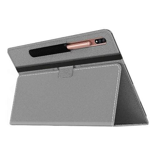 SaharaCase - Folio Series Case - for Samsung Galaxy Tab S7 Plus - Gray - Sahara Case LLC