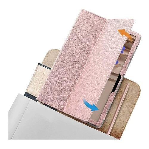 SaharaCase - Folio Series Case - for Samsung Galaxy Tab S7 Plus - Pink - Sahara Case LLC