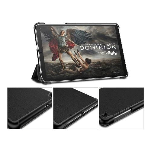"SaharaCase - Folio Series Case - Samsung Galaxy Tab A 8.4"" (2020) - Scorpion Black - Sahara Case LLC"