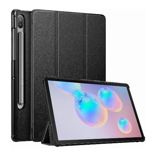 "SaharaCase - Folio Series Case - Samsung Galaxy Tab S6 10.5"" T860 - Scorpion Black - Sahara Case LLC"