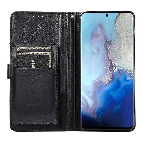 SaharaCase - folio Wallet Case - for Samsung Galaxy Note20 5G - Black - Sahara Case LLC