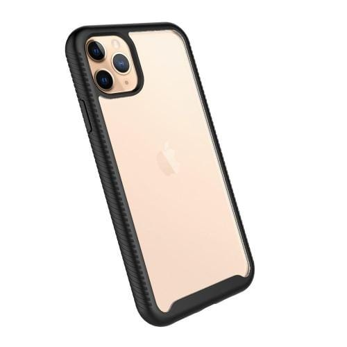 "SaharaCase - Full Protection Series Case with Built-in Screen Protector - iPhone 11 Pro 5.8"" - Scorpion Black Clear - Sahara Case LLC"