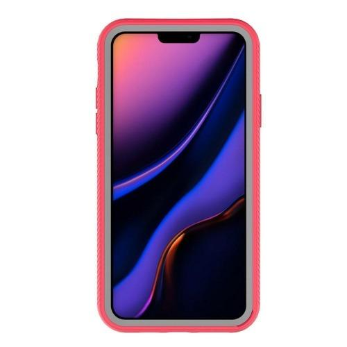 "SaharaCase - Full Protection Series Case with Built-in Screen Protector - iPhone 11 Pro Max 6.5"" - Rose Clear - Sahara Case LLC"