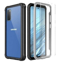 Full Protection Series Galaxy S20 Case Black Clear