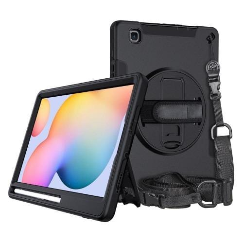 "SaharaCase - Heavy Duty Series Case with Built-in Screen Protector - Samsung Galaxy Tab A 8.4"" (2020) - Scorpion Black - Sahara Case LLC"