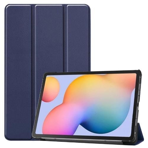 SaharaCase - Galaxy Tab S6 Lite - Folio Case - Blue - Sahara Case LLC