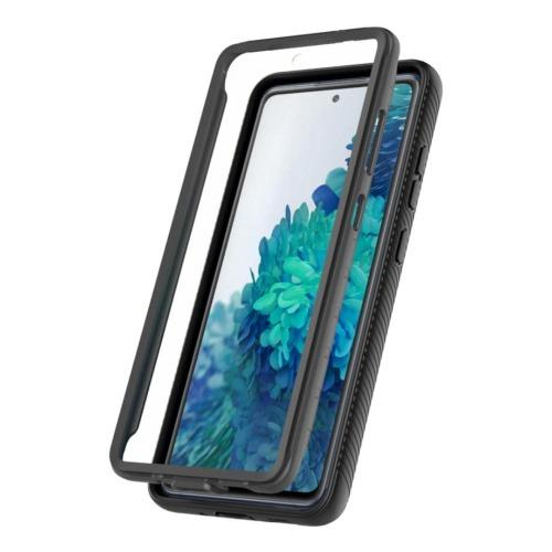 SaharaCase - GRIP Series Case - Galaxy S20 FE - Black - Sahara Case LLC