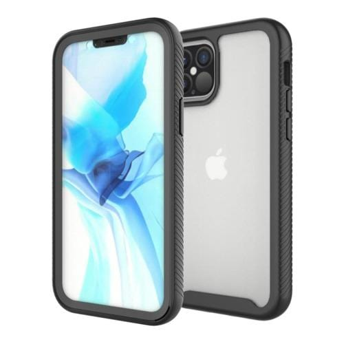 Black Non-Slip iPhone 12 and iPhone 12 Pro Case - GRIP Series Case