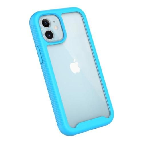 "SaharaCase - GRIP Series Case - iPhone 12 Mini 5.4"" - Aqua - Sahara Case LLC"