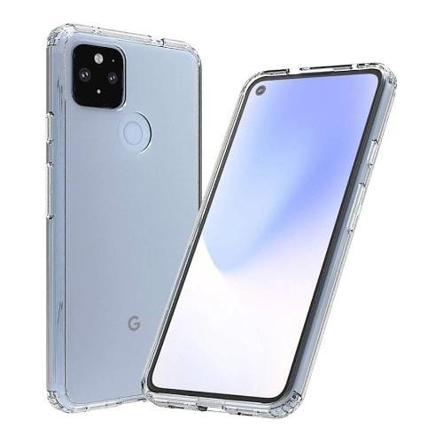 SaharaCase - Hard Shell Series Case - for Google Pixel 4a - Clear - Sahara Case LLC