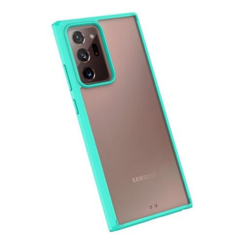 SaharaCase - Hard Shell Series Case - for Samsung Galaxy Note 20 Ultra 5G - Teal/Clear - Sahara Case LLC