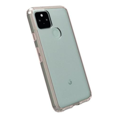 SaharaCase - Hard Shell Series Case - Google Pixel 5 - Clear Rose Gold - Sahara Case LLC