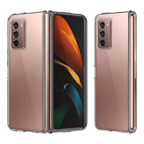 SaharaCase - HardShell Case - for Galaxy Z Fold2 5G - Clear - Sahara Case LLC