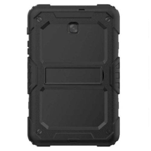 SaharaCase Heavy Duty Case with Built-in Screen Protector for Samsung Galaxy Tab A 8.0 (2018) T387 Scorpion Black - Sahara Case LLC