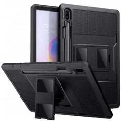 "Heavy-duty Samsung Tab S6 10.5""Case and Screen Protector in Scorpion Black - Heavy Duty Series"