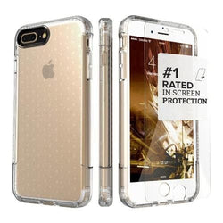 SaharaCase - Inspire Series Case - iPhone 8/7 Plus - Clear - Sahara Case LLC
