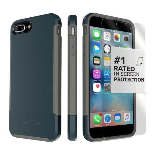 SaharaCase - Inspire Series Case - iPhone 8/7 Plus - Night Sky Navy - Sahara Case LLC