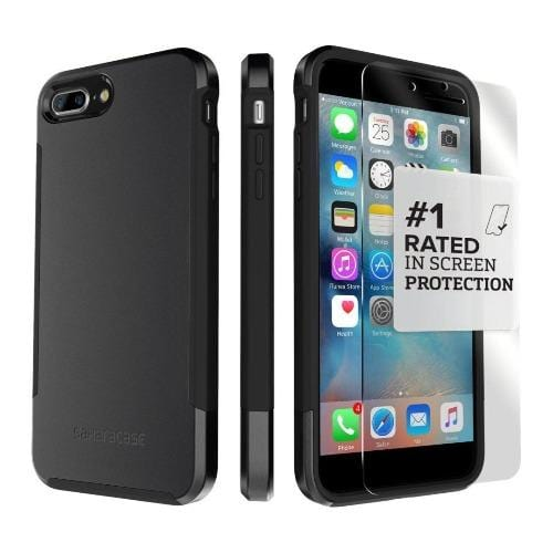 SaharaCase - Inspire Series Case - iPhone 8/7 Plus - Scorpion Black - Sahara Case LLC