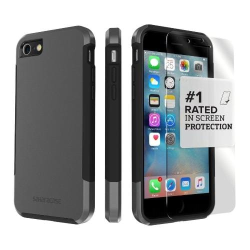 SaharaCase - Inspire Series Case - iPhone SE(Gen 2)/ 8/7 - Mist Gray - Sahara Case LLC