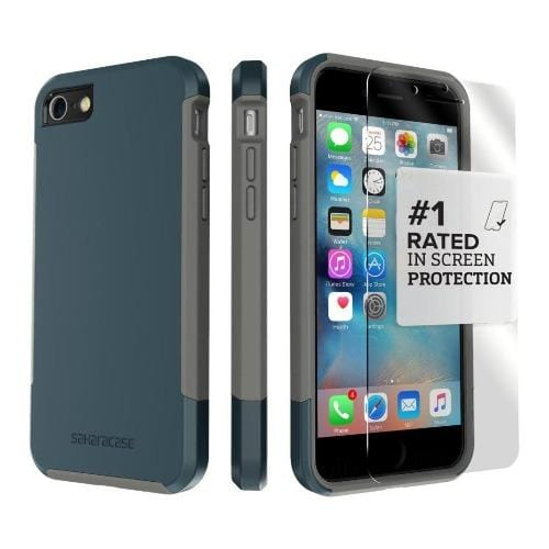 SaharaCase - Inspire Series Case - iPhone SE(Gen 2)/ 8/7 - Night Sky Navy - Sahara Case LLC