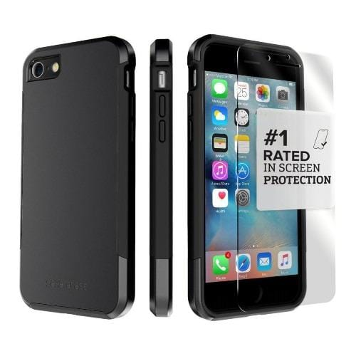 SaharaCase - Inspire Series Case - iPhone SE(Gen 2)/ 8/7 - Scorpion Black - Sahara Case LLC