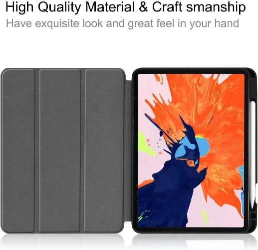 "SaharaCase - Folio Series Case - iPad Pro 12.9"" (2020) - Mist Gray - Sahara Case LLC"