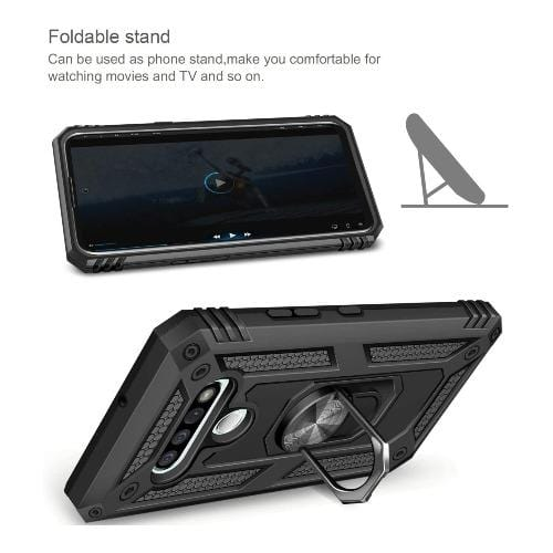 SaharaCase - Kickstand Series Case - for LG Stylo 6 - Black - Sahara Case LLC