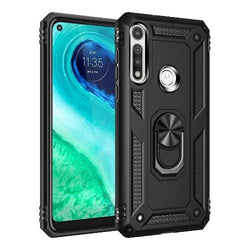 SaharaCase - Kickstand Series Case - for Motorola G Fast - Black - Sahara Case LLC