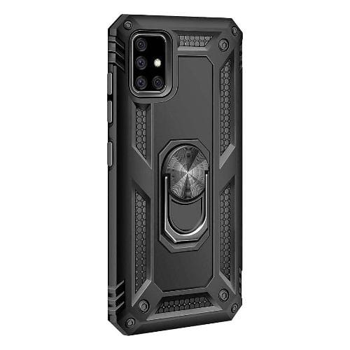 SaharaCase - Kickstand Series Case - for Samsung Galaxy A71 5G - Black - Sahara Case LLC