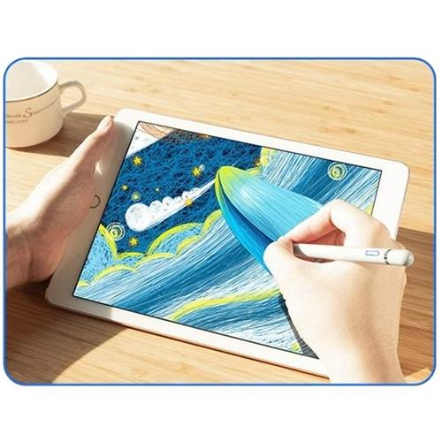 SaharaCase LLC - SaharaBasics Pencil Stylus - Apple iPad - White - Sahara Case LLC