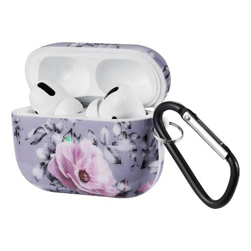 SaharaCase - Marble Floral Case Apple Airpods Pro - Sahara Case LLC