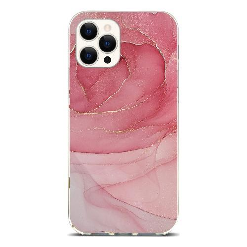 "SaharaCase - Marble Series Case - iPhone 12 & iPhone 12 Pro 6.1"" - A - Sahara Case LLC"