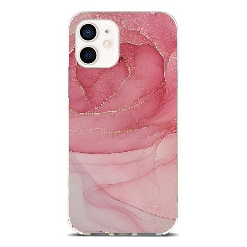 "SaharaCase - Marble Series Case - iPhone 12 Mini 5.4"" - A - Sahara Case LLC"
