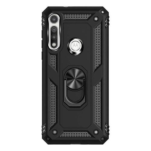 SaharaCase - Military Kickstand Series Case - for Motorola G Fast - Black - Sahara Case LLC