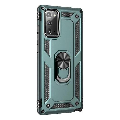 SaharaCase - Military Kickstand Series Case - for Samsung Galaxy Note 20 - Green - Sahara Case LLC