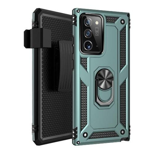 SaharaCase - Military Kickstand Series Case for Samsung Galaxy Note20 Ultra - Midnight Green - Sahara Case LLC