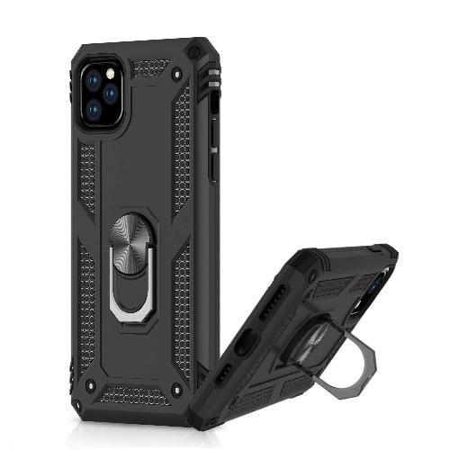 "SaharaCase Military Kickstand Series Case iPhone 11 Pro Max 6.5""- Black - Sahara Case LLC"