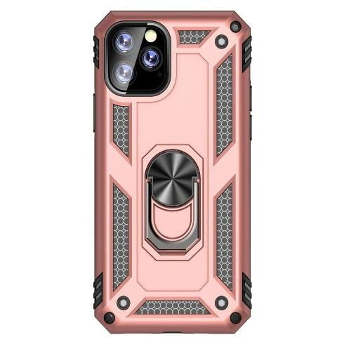 "SaharaCase Military Kickstand Series Case iPhone 11 Pro Max 6.5""- Rose Gold - Sahara Case LLC"
