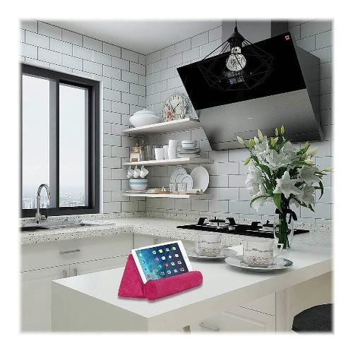 "SaharaCase - Pillow Tablet Stand - for Most Tablets up to 12.9"" - Pink - Sahara Case LLC"